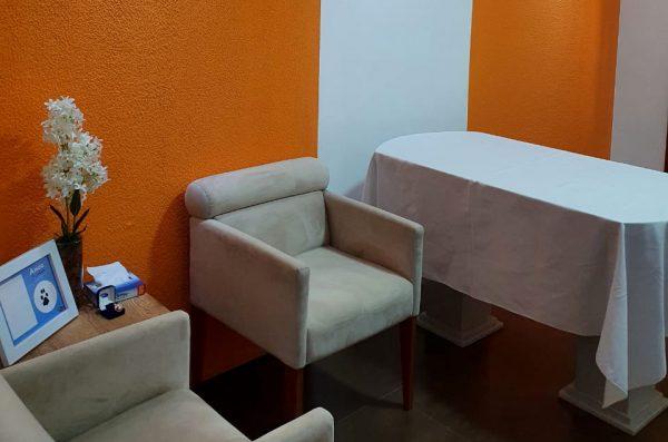 Hospital Veterinário Vet Prado - Sala de despedida