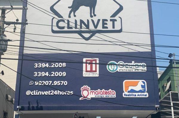 Hospital veterinário Clinvet - Entrada