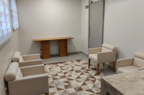 Hospital veterinário Clinvet - Sala de despedida
